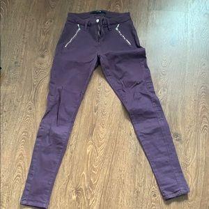Purple denim jeans great condition!